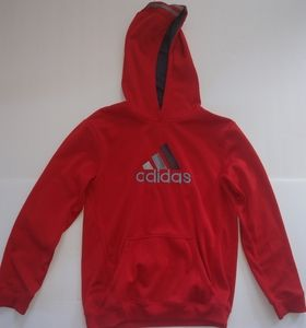 Adidas red hoodie